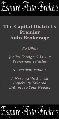 Repair and Sales of Import cars in Albany NY | Page introduction | Esquire Auto Brokers advertisement & link